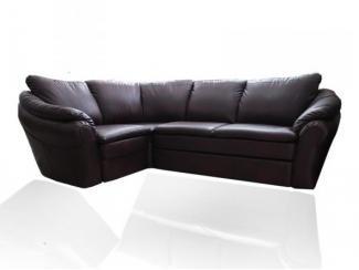 Темный угловой диван Мартин 2 - Мебельная фабрика «Darna-a»