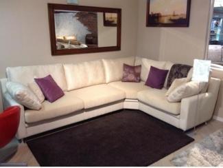Угловой спальный диван Irina