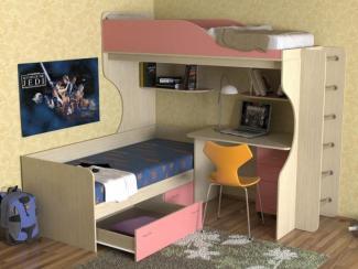 Кровать детская Дуэт 5 - Мебельная фабрика «Мезонин мебель»