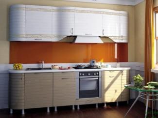 кухня прямая Анастасия тип 3 - Мебельная фабрика «Любимый дом (Алмаз)»
