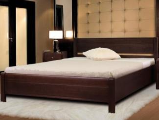 Кровать Руно 3 массив бука - Мебельная фабрика «Диамант-М»