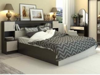 Удобная кровать с тумбами Белисия  - Мебельная фабрика «Интерьер»