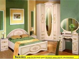 Спальня Василиса  - Мебельная фабрика «Мебликон»
