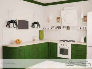 Кухня Чара массив - Мебельная фабрика «Волжская мебель»