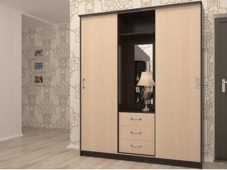 Модель шкафа в прихожую АН-019-18-бф - Мебельная фабрика «ИнтерЛиния»