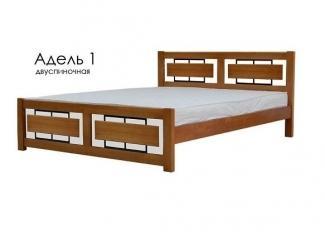 Кровать Адель 1А  - Мебельная фабрика «Фактура-Мебель»