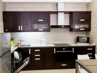 Кухонный гарнитур Береза цвет венге