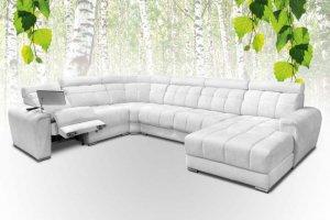Угловой диван с оттоманкой Арабелла - Мебельная фабрика «Славянская мебель»