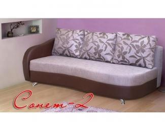 Диван тахта Сонет 2 - Мебельная фабрика «Элегантный стиль»