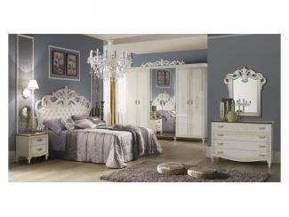 Спальный гарнитур Белла белая