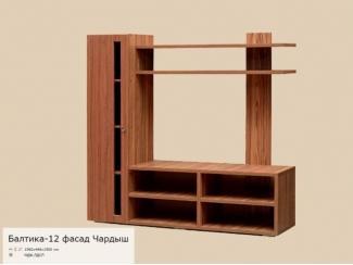 Мебель для гостиной Балтика 12 с фасадом Чардыш - Мебельная фабрика «РиАл», г. Волжск