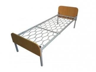 Металлическая кровать Студент  - Мебельная фабрика «Металл конструкция» г. Майкоп