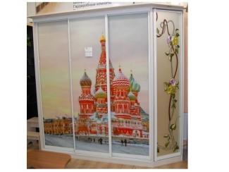 Шкаф купе фотопечать и витраж - Мебельная фабрика «Красивый Дом»
