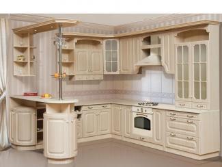 Кухонный гарнитур угловой Маргарита 5 - Мебельная фабрика «Градиент-мебель»