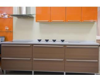 Кухонный гарнитур прямой 42 - Изготовление мебели на заказ «Ориана»
