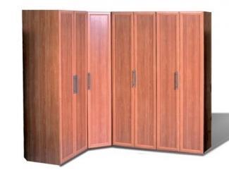 Угловой распашной шкаф Гармошка - Мебельная фабрика «Асгард»