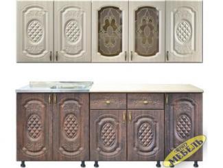 Кухня прямая 47 - Мебельная фабрика «Трио мебель»