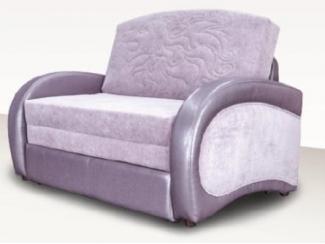 Малогабаритный фиолетовый диван Чарли  - Мебельная фабрика «Димир»