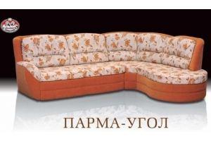 Оранжевый угловой диван Парма - Мебельная фабрика «Альянс-М»