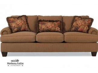 Мягкая раскладная софа со съемными подушками Ledssi - Мебельная фабрика «МебельЛайн»
