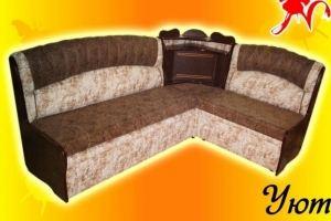 Угловой диван с баром Уют 1 - Мебельная фабрика «Натали»