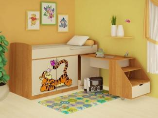 Кровать детская комбинированная Тигра - Мебельная фабрика «Ивушка»