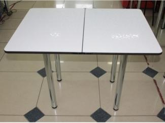 Раскладной стол из пластика белый