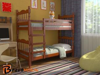 Детская кровать Соня орех - Мебельная фабрика «Bravo Мебель»