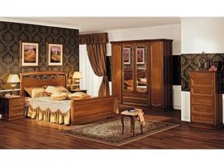 Спальный гарнитур Луиджи - Мебельная фабрика «Миасс Мебель»