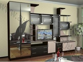 Гостиная со шкафом Глория 5 - Мебельная фабрика «Ангелина-2004»