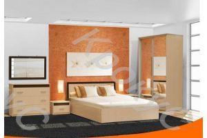 Спальный гарнитур Венеция 1 - Мебельная фабрика «Крокус»