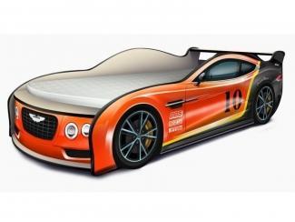 Кровать-машина Астон Мартин Гоночный оранжевый - Мебельная фабрика «КАРоБАС»