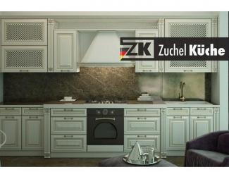 Кухонный гарнитур прямой Бремен Уайт - Мебельная фабрика «Zuchel Kuche»
