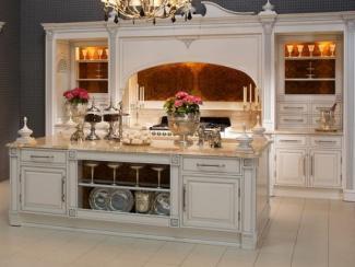 Кухня прямая Британика Лакшери - Мебельная фабрика «Атлас-Люкс»