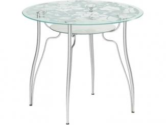Стол обеденный стеклянный Круглый - Мебельная фабрика «Метта»