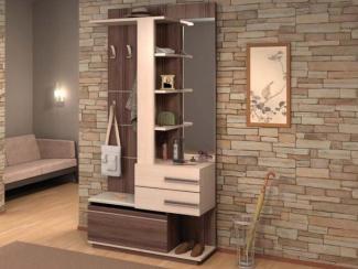 Прихожая прямая бамбук - Изготовление мебели на заказ «Мега»