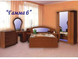 Спальня Гамма 6 ЛДСП - Мебельная фабрика «Гамма-мебель»