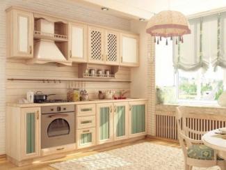 кухня прямая Кантри  - Мебельная фабрика «Любимый дом (Алмаз)»