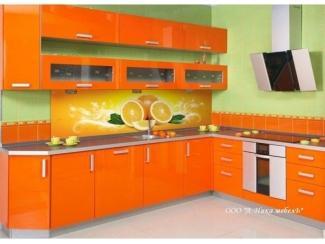 Оранжевый кухонный гарнитур Апельсин - Мебельная фабрика «А-Ника», г. Ульяновск