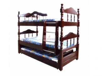 Кровать трехъярусная - Мебельная фабрика «МуромМебель (ИП Баранихина Г.И.)»
