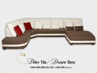 Угловой диван Дольче Вита - Мебельная фабрика «Angelo Astori»