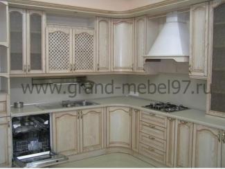 Кухня массив 07 - Мебельная фабрика «Гранд Мебель»