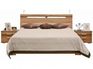 Кровать двойная Анастасия П359.05 - Мебельная фабрика «Пинскдрев»