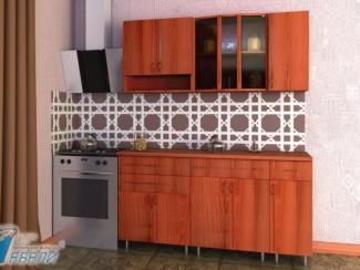 кухня прямая «Уют» ЛДСП - Мебельная фабрика «Мир Мебели»