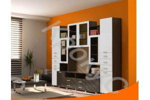 Гостиная Престиж 3 - Мебельная фабрика «Крокус»