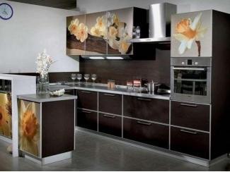Кухня с фотопечатью KF 6 - Мебельная фабрика «FSM (Фабрика Стильной Мебели)»