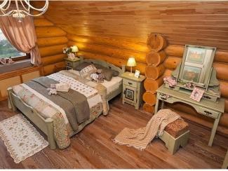 Спальня из массива Lagos - Мебельная фабрика «Домашняя мебель»
