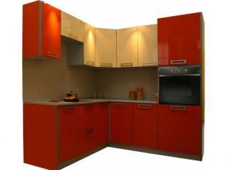 Кухня угловая Акрилайн Ваниль