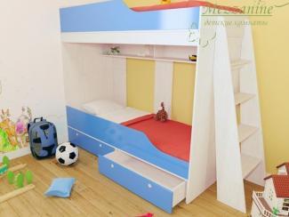 Кровать детская Твинс - Мебельная фабрика «Мезонин мебель»