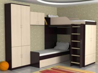 Кровать детская Дуэт 10 - Мебельная фабрика «Мезонин мебель»